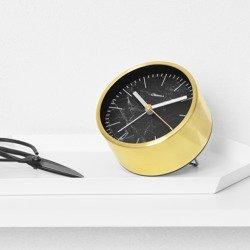 Structure Alarm Clock - Black Marble