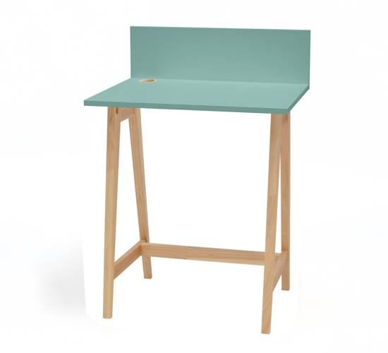 LUKA Ashwood Writing Desk 65x50cm / Mint