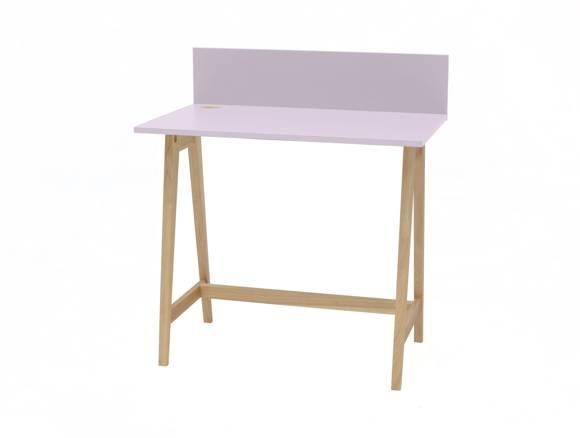 LUKA Ashwood Writing Desk 85x50cm / Dusky Pink