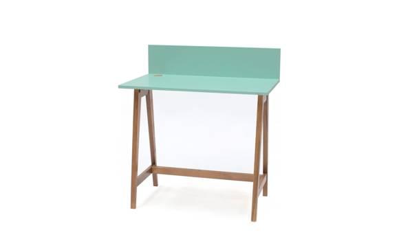 LUKA Writing Desk 85x50cm Oak / Mint