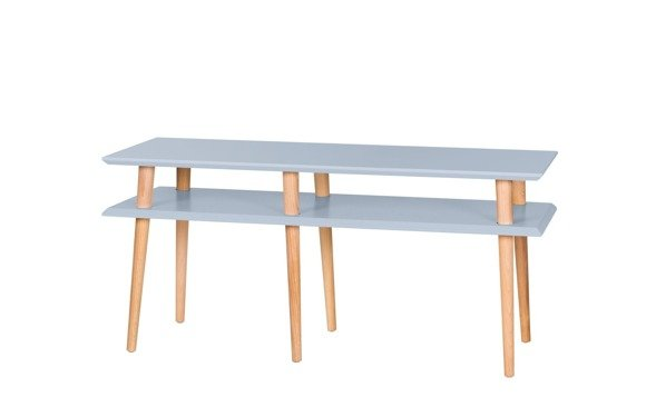 MUGO Sideboard 119x40x45 - Light Grey
