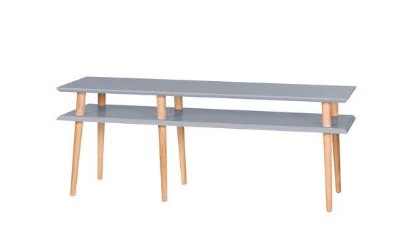 MUGO Sideboard 139x40x45 - Dark Grey